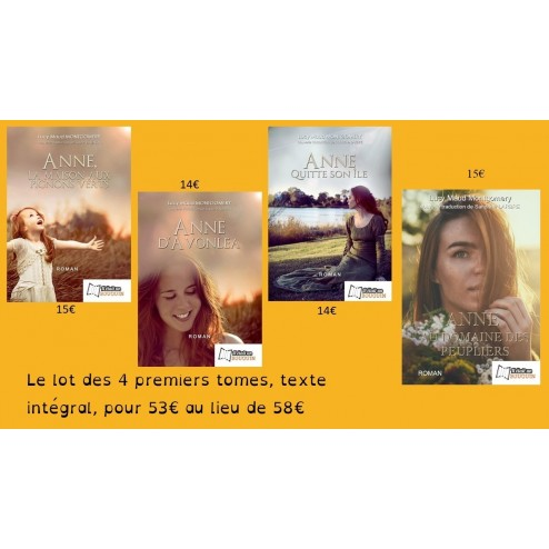 Coffret Anne Shirley (4 premiers tomes)