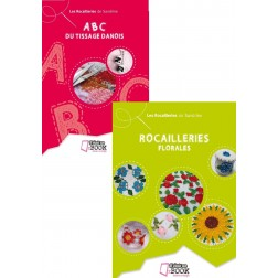 lot ABC du tissage danois + Rocailleries florales (super PROMO)